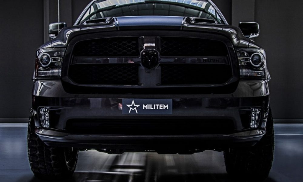 militem RAM 1500 RX pick-up americano
