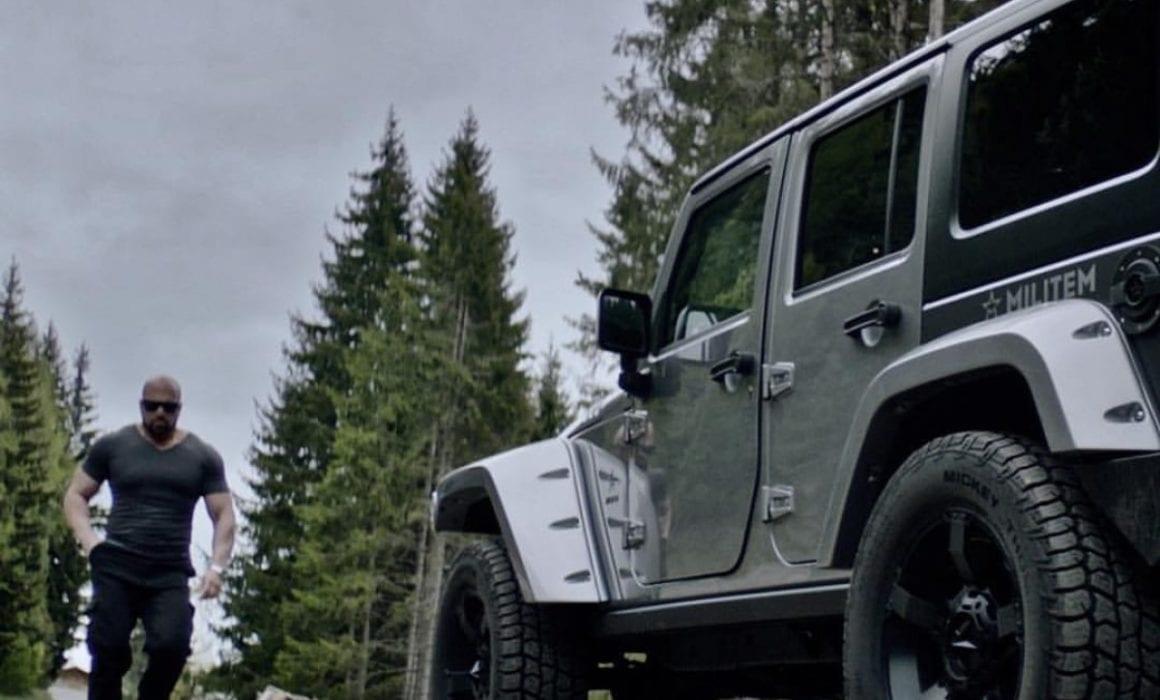 MILITEM JIII jeep 4x4