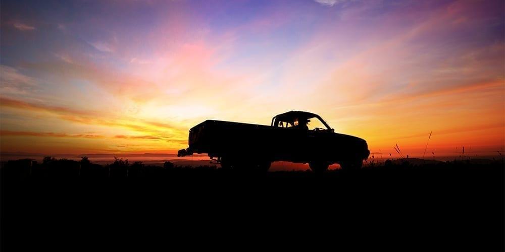 Pick up al tramonto
