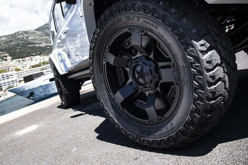 american 4×4 vehicle Ferox Militem wheels