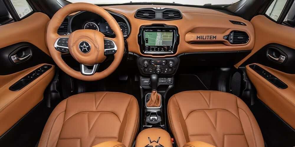 american SUV hero militem interiors