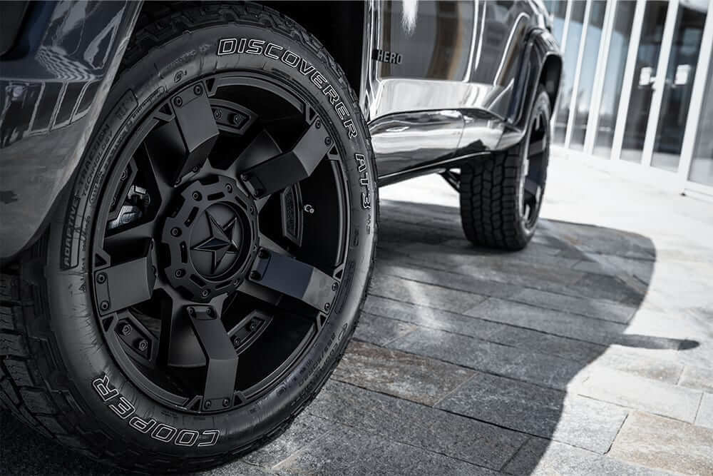 american SUV hero militem wheels