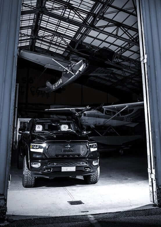 american pick up vehicle exteriors magnum militem
