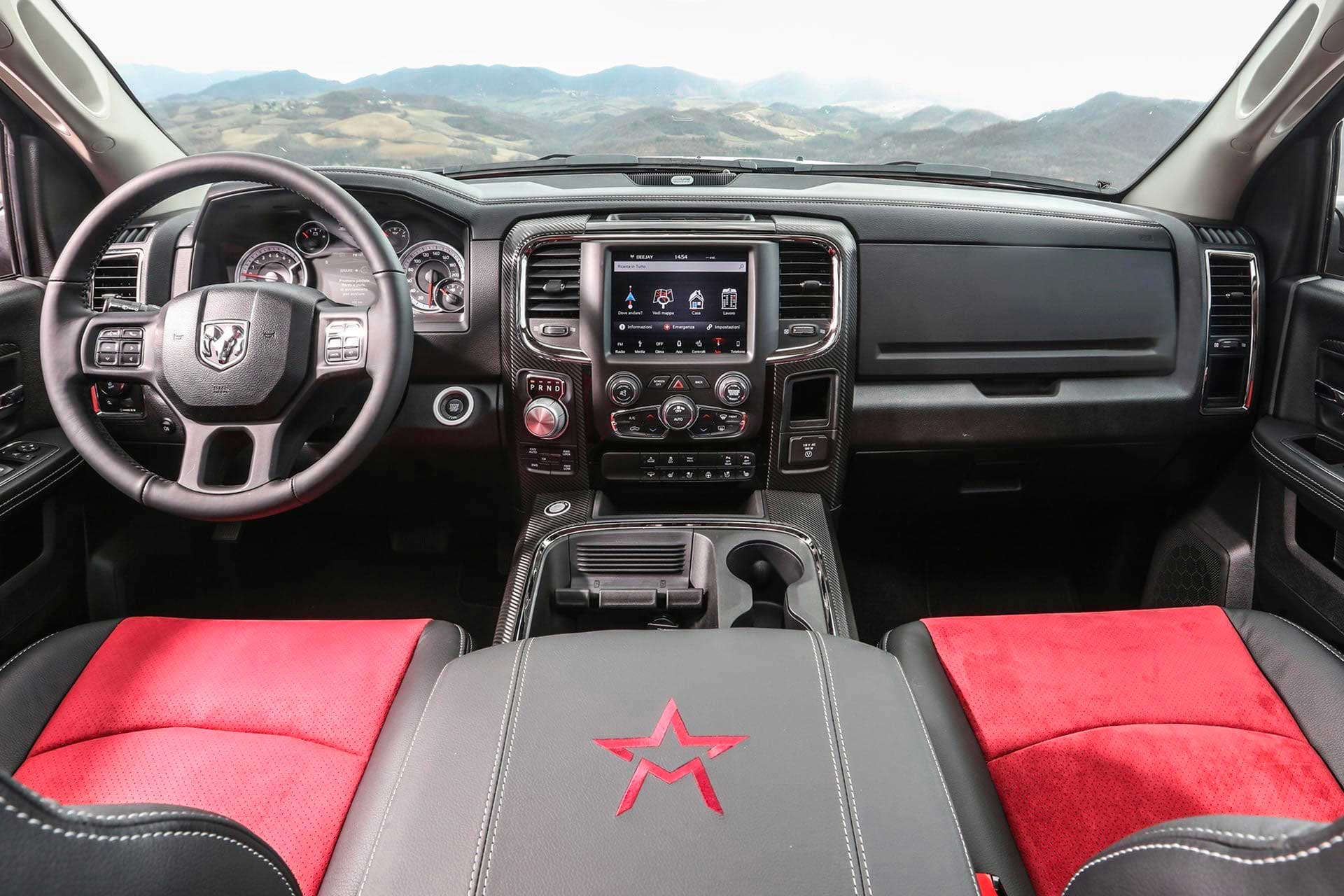 american pick up vehicle militem interiors