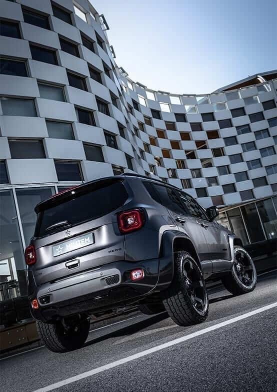 luxury SUV hero Militem exteriors