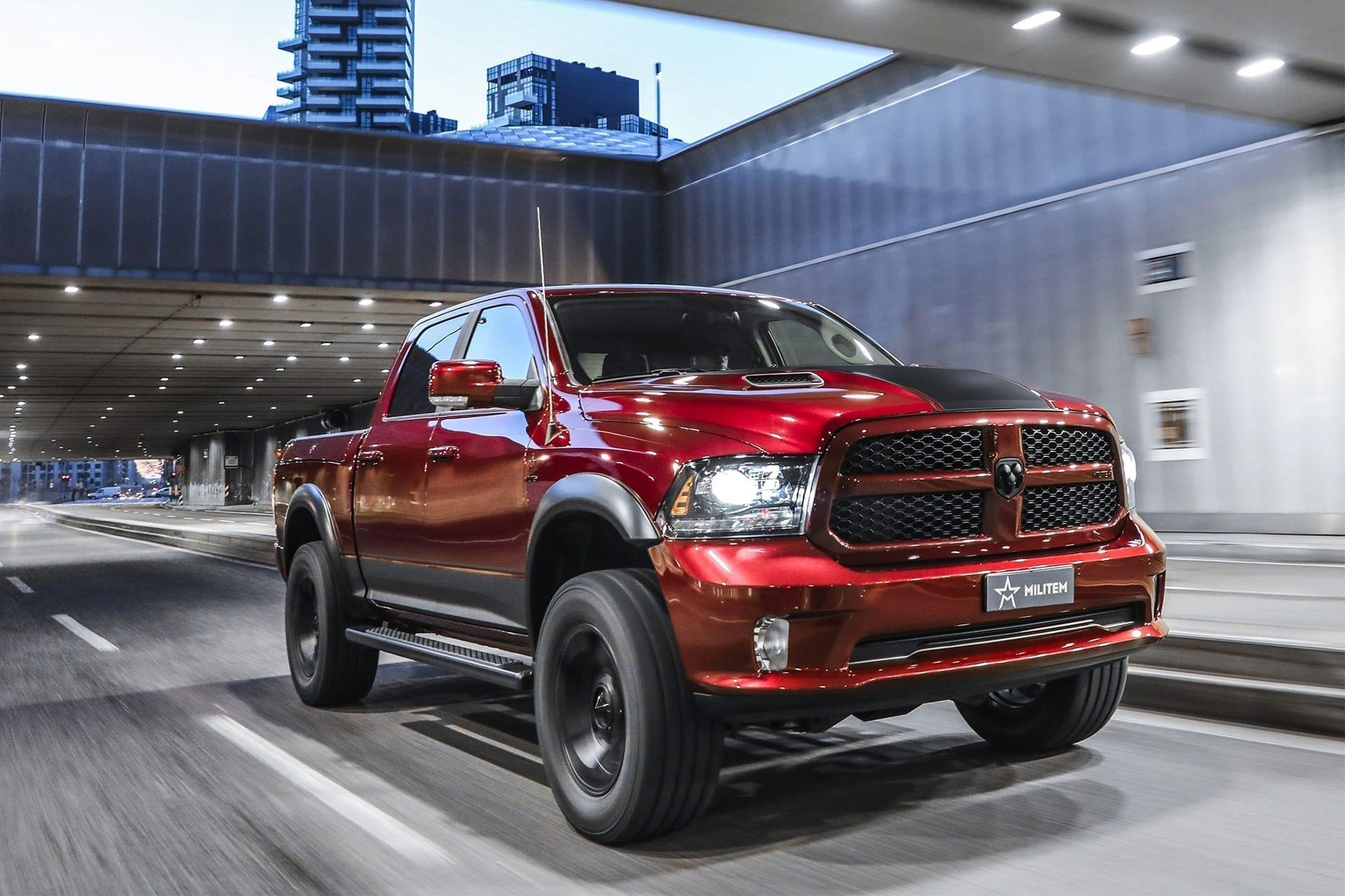luxury american pick-up militem