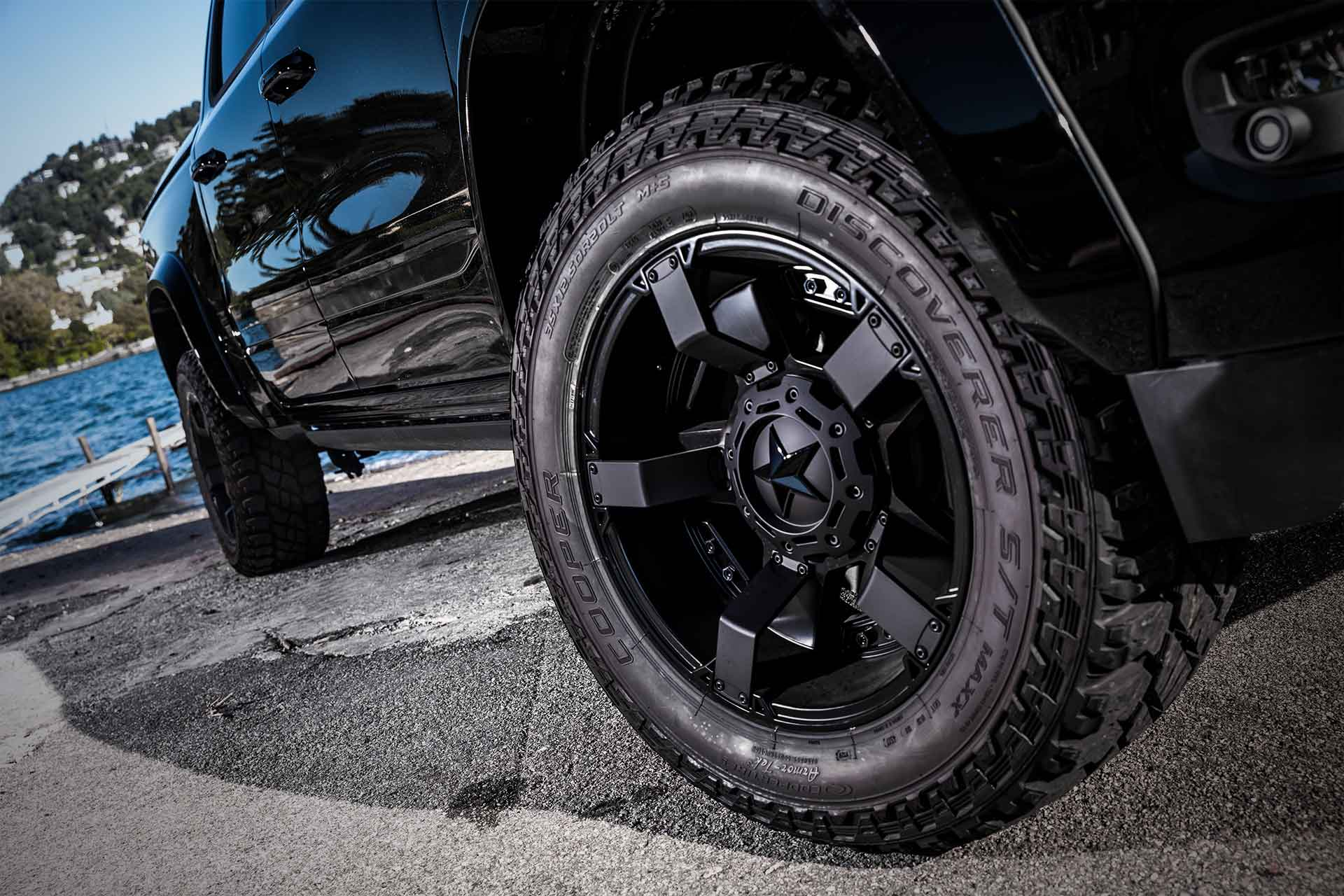 luxury american pick-up wheels magnum militem